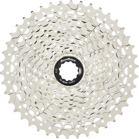 SunRace CSMS3 Cassette 10-speed metallic